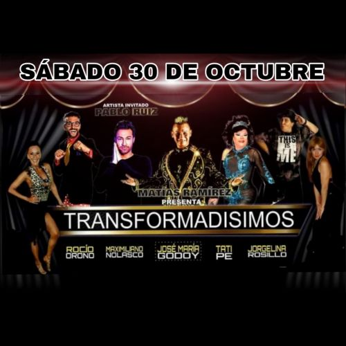 Comprá entradas para el show de TRANSFORMADISIMOS  en Artistas en Vivo